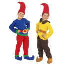 wholesale Toys: gnome 2 styles assorted (coat, pants, belt, shoe
