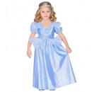 Großhandel Spielwaren: Princess hellblau (Kleid), Größe: 2x (110 cm /