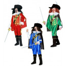 wholesale Shirts & Blouses: musketeer 3 colors assorted (shirt with overcoat