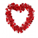 wholesale Home & Living:  st. valentine's  day tinsel heart 22x22 cm