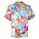 wholesale Toys: satin hawaiian shirt , Size: (M), Hat size: 0 -