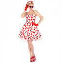 the 50s fashion (dress with petticoat), Size: (L