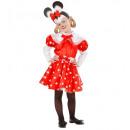 ingrosso Ingrosso Abbigliamento & Accessori:  Mouse ragazza   (abito, cintura, copricapo), Dimen