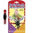 grossiste Cadeaux et papeterie:  Pull-back animal   3 modèles assortis: blatte -