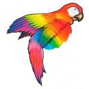 Großhandel Partyartikel: Riesen Waben Papagei 76 cm