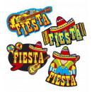 grossiste Décoration:  décorations de  fête mexicaine  55 cm - 4 styles A