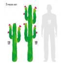 wholesale Toiletries:  cactus  h 180 and 120 cm - set of2
