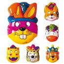 grossiste Jouets: chiots masque plastique - 6 modèles ass. - pour