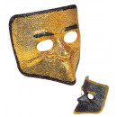 glitter canal  grande mask  2 colors assorted -  f