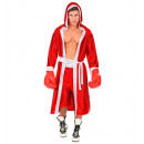 wholesale Toys: boxeur red (hoodedcape with belt, shorts), Size: