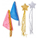 wholesale Toys: fairy dress-up set (hat, magic wand) pink & ligh