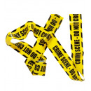 barricade tape   crime scene - do not cross  7,20