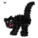 hurtownia Ogrod & Majsterkowanie: czarny blichtr 30 x 36 cm
