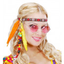 wholesale Toys: hippie headbands with beads & feathers - for ad
