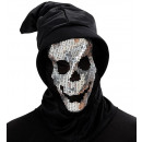 wholesale Toys: sequin skull hooded mask , Hat size: 0 - for adu