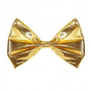 wholesale Toys: gold metallic bow tie - for adults / unisex