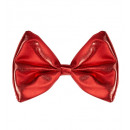 wholesale Toys: red metallic bow tie - for adults / unisex