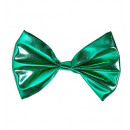 wholesale Toys: green metallic bow tie - for adults / unisex