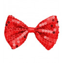 wholesale Toys: red sequin bow tie - for adults / unisex