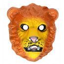wholesale Toys: lion mask plastic - for children / unisex