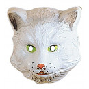 wholesale Toys: cat mask plastic - for children / unisex
