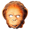 wholesale Toys: monkey mask plastic - for children / unisex