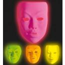 grossiste Jouets: masque néon en plastique - 2 styles et 4colors a