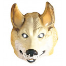wholesale Toys: wolf mask plastic - for adults / unisex