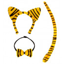 wholesale Toys: tiger dress-up set (ears, bowtie, tail) - for w