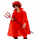 wholesale Toys: child size red cape 100 cm - for children / uni