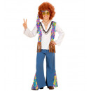 wholesale Toys: woodstock hippie (shirt withvest, pants, headban