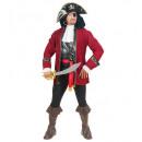 Botín del pirata de la isla  (abrigo, chaleco con