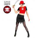 ingrosso Gonne:  Lady pirata  (in  alto con il cranio luce-up, gonn