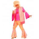 ingrosso Moda e tradizione:  L'uomo  hippie  (camicia, gilet, pantaloni, fa