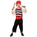 ingrosso Ingrosso Abbigliamento & Accessori:  Pirata  (camicia,  pantaloni, cintura, bandana), D