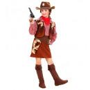 nagyker Játékok: Cowgirl (ing, mellény, szoknya, öv, pisztolytásk