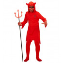 devil  (hooded  robe), Size: (116 cm / 4-5 Years)
