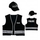police officer   (vest, cap), Size: (M/L) -  for m