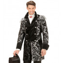 Silver cappotto jacquard parata  per l'uomo,