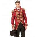 groothandel Speelgoed:  Rode jacquard  parade rok  Forman, Maat: (S) -