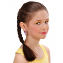 wholesale Toys:  brown plait hair  extension  - for girls