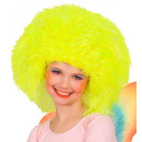 wholesale Toys: fairy wig neon yellow - in polybag, Hat size: 0