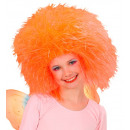 wholesale Toys: fairy wig neon orange - in polybag, Hat size: 0