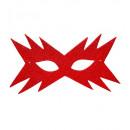 Stella eyemask glitter rosso - per le donne