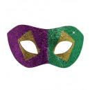 Martedì grasso scintillio eyemask - per le donne