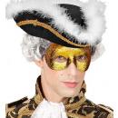 mascherina fidelio con glitter oro - per adulti