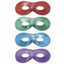 mayorista Juguetes:  Fiesta  Eyemask 4  colores surtidos: rojo metálico