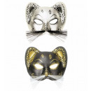 Eyemask panther combinazioni di 2 colori assorti