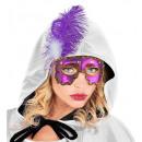 Mascherata eyemask palla con 4 pietre preziose e