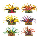 wholesale Toys: rio de janeiro feather crown 6 colors assorted,